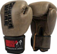 Gorilla Wear Yeso Bokshandschoenen - Boxing Gloves - Boksen - Bruin - 10 oz