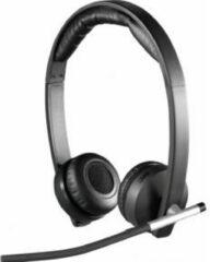 Logitech Dual H820e PC-headset USB, Radiografisch 2.4 GHz Stereo, Draadloos On Ear