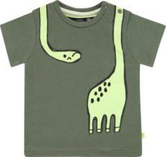 Babyface baby T-shirt met biologisch katoen groen