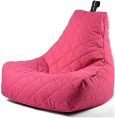 B-Bag Extreme Lounging Extreme Lounging B-Bag Mighty-B Zitzak Quilted - Roze