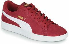 Puma Sneakers - Maat 44 - Mannen - bordeauxrood/wit