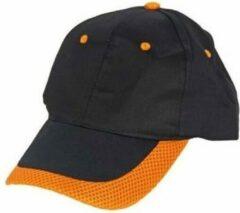 Nederland Cap holland senior zwart/oranje (30480) - Cap - Zwart
