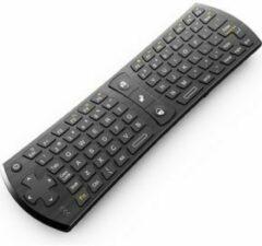Rii Mini Wireless Keyboard i24 RF Draadloos AZERTY Engels Zwart toetsenbord
