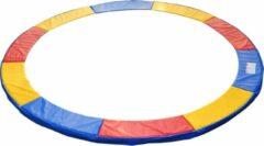 GardenGoodz® Trampoline rand afdekking - Trampoline beschermrand - 244 cm - Blauw - Rood - Geel