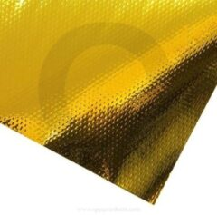 QSP Products Zelfklevende mat 250 x 500 mm goud