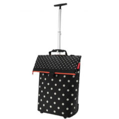 Reisenthel Trolley M Boodschappentrolley - Polyester - 43 L - Mixed Dots Zwart;Wit;oranje