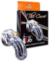 Transparante CB-X Mister B CBX Penisring THE CURVE CHASTITY CAGE