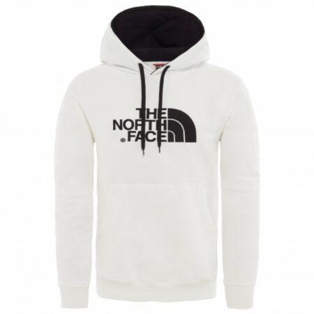 Afbeelding van The North Face - Drew Peak Pullover Hoodie - Hoodie maat S, wit/grijs