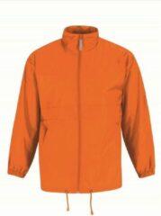 Bc Heren regenkleding - Sirocco windjas/regenjas in het oranje - volwassenen L (52) oranje
