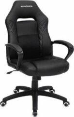 MIRA Home - Bureaustoel volwassenen - Gamestoel kinderen - Bureaustoelen - Verstelbaar - Zwart -70x70x106
