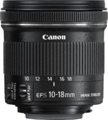 Canon objectief EFS10-18mm F/4.5-5.6 IS STM