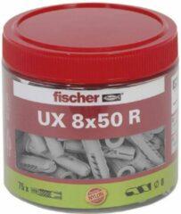 Fischer fietsen Fischer Universeel plug UX 8 x 50 R met rand doosje
