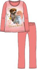 Pyjama Hond en kat (3 maten 98/104)