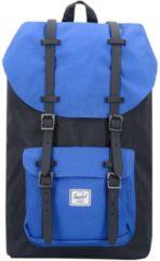 Little America 17 II Backpack Rucksack 52 cm Laptopfach Herschel black surf the web black rubber