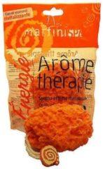 Oranje MARTINISPA Aroma Therapie – Badspons – Ovaal - Sinaasappel & Grapefruit – Voordeelset 2 Stuks!!
