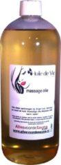 Huile de Vie Massage olie afspoelbaar Roos