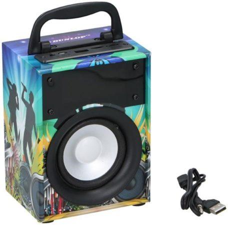 Afbeelding van Bluetooth speaker - Luidspreker BT led Dunlop - draagbaar