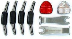 Zwarte Reelight lampset SL100 Flash
