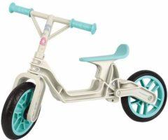 Creme witte Polisport Balanca Bike loopfiets 10 Inch Junior Crème/Wit