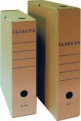 Classex Class'ex archiefdoos, voor ft folio, binnenformaat: 36,5 x 25,1 cm