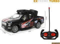 Zwarte LX toys Rc Extreme Turbo race auto 1:20 - radiografisch bestuurbare auto - 19 CM (inclusief batterijen)