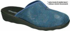 Westland -Dames - turquoise - pantoffels - maat 40