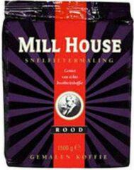Millhouse rood snelfilter 4 x 1,5 kg
