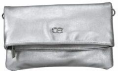 Clutch Collezione Alessandro zilverkleur