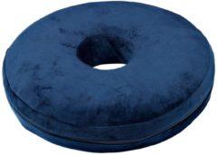 Anti-Dekubitus Komfortkissen Donut blau