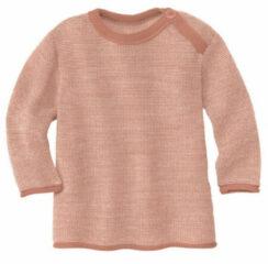 Disana - Kid's Melange-Pullover - Merino trui maat 62/68, beige