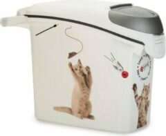 Curver Voedselcontainer Kat Wit 15 liter