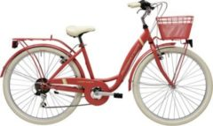 26 Zoll Damen City Fahrrad 6 Gang Adriatica Panda Adriatica rot