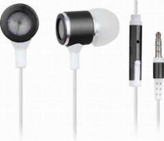 Zwarte Gembird MHS-EP-001 - In-ears met microfoon