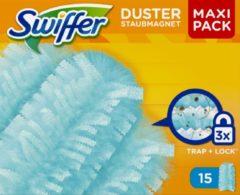 Blauwe Swiffer Duster Trap & Lock - 15 Stuks - Navul Stofdoekjes