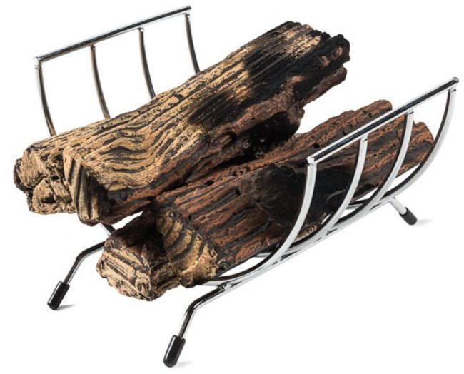 Afbeelding van Grijze Happy Cocooning houder voor keramische houtlbokken / wijnrek