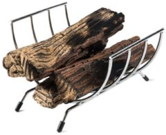 Grijze Happy Cocooning houder voor keramische houtlbokken / wijnrek