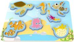 Disney Vormenpuzzel Nemo 29,5 X 21 Cm Hout 8-delig