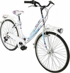 26 Zoll Damen City Fahrrad 6 Gang Alpina... weiß