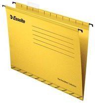 Esselte hangmappen voor laden Pendaflex Plus tussenafstand 330 mm, geel, doos van 25 stuks