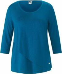 T-shirt met korte mouwen Van Anna Aura blauw