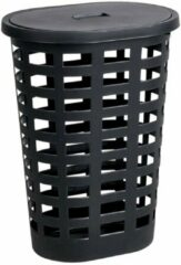 Xenos Wasmand ovaal - zwart - 35x47,5x76 cm