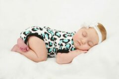 Witte Svenny Baby Rompertje 56