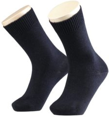 Marineblauwe FALKE Ergonomic Sport System Falke Comfort Wool Sok (10488) - Sportsokken - Kinderen - Dark Marine (6170) - Maat 35-38
