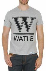 Grijze T-shirt Korte Mouw Wati B TEE