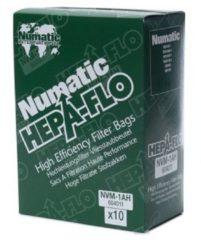Numatic NVM-1AH HEPA stofzuigerzakken - 6 liter - 10 stuks