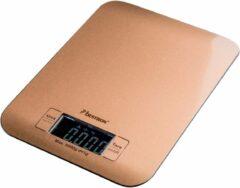 Bestron AKS700CO keukenweegschaal Elektronische keukenweegschaal Koper Tafelblad Vierkant