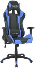 VidaXL Bureau-/gamestoel verstelbaar Xtreme kunstleer blauw (INCL muismat)