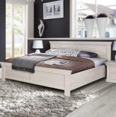 Bett 180 x 200 cm Pinie weiss FORTE MÖBEL Kashmir