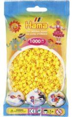 Hama beads Hama strijkkralen - geel - 1000-delig