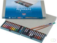 Bruynzeel Design Kleurpotloden Bruynzeel 8835 Design aquarel 24stuks assorti